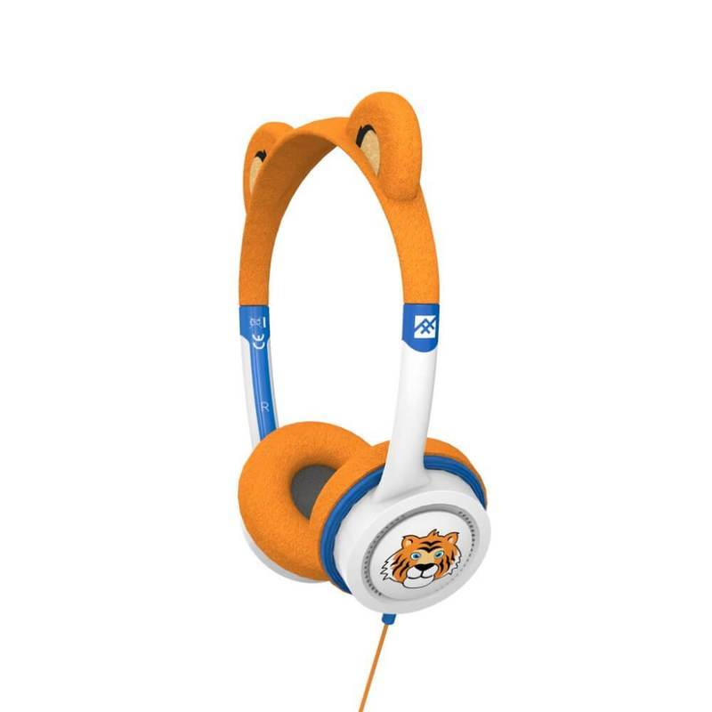 iFrogz Little Rockers Costume V2 Tiger Kids On-Ear Headphones