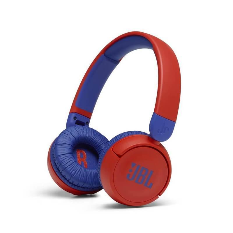 JBL JR310 BT Kids Wireless On-Ear Headphones - безжични слушалки подходящи за деца (червен-син)