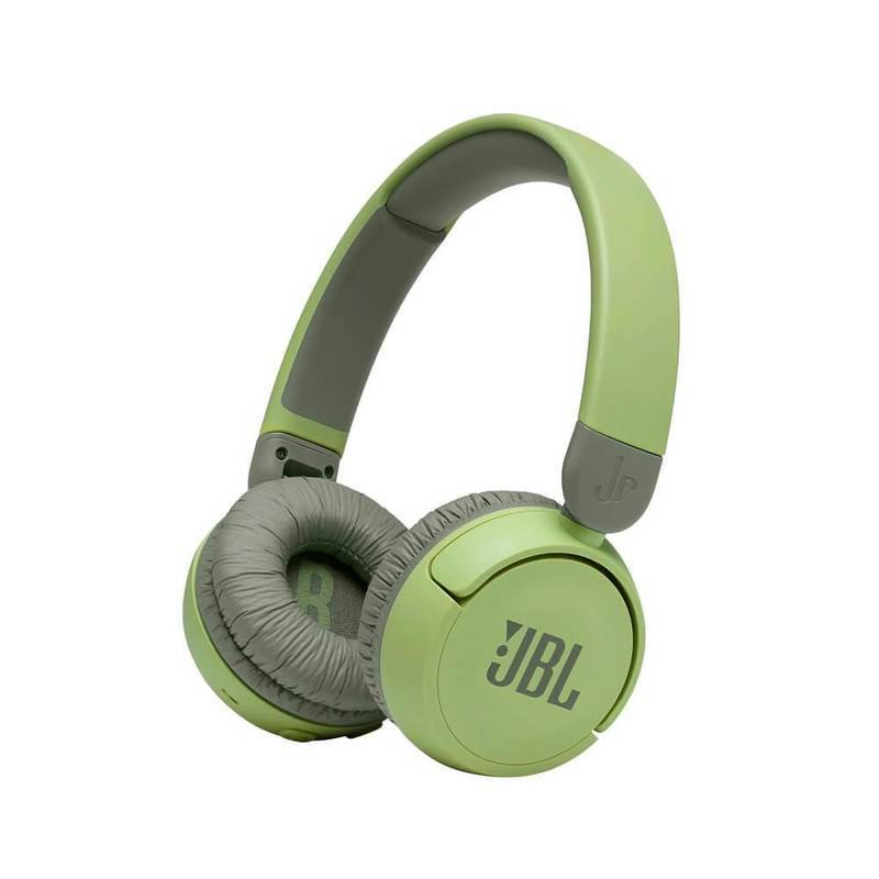 JBL JR310 BT Kids Wireless On-Ear Headphones - безжични слушалки подходящи за деца (зелен-сив)