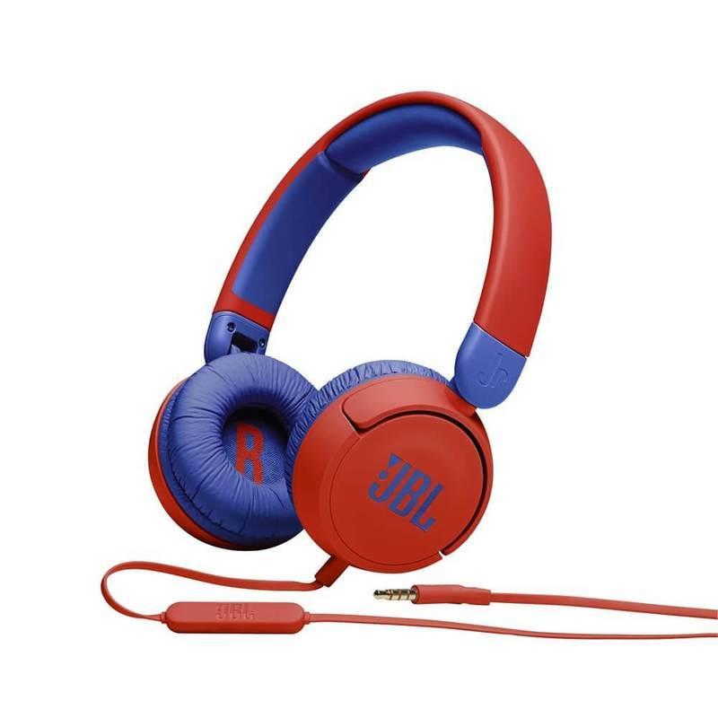 JBL JR310 Kids On-Ear Headphones - слушалки подходящи за деца (червен-син)