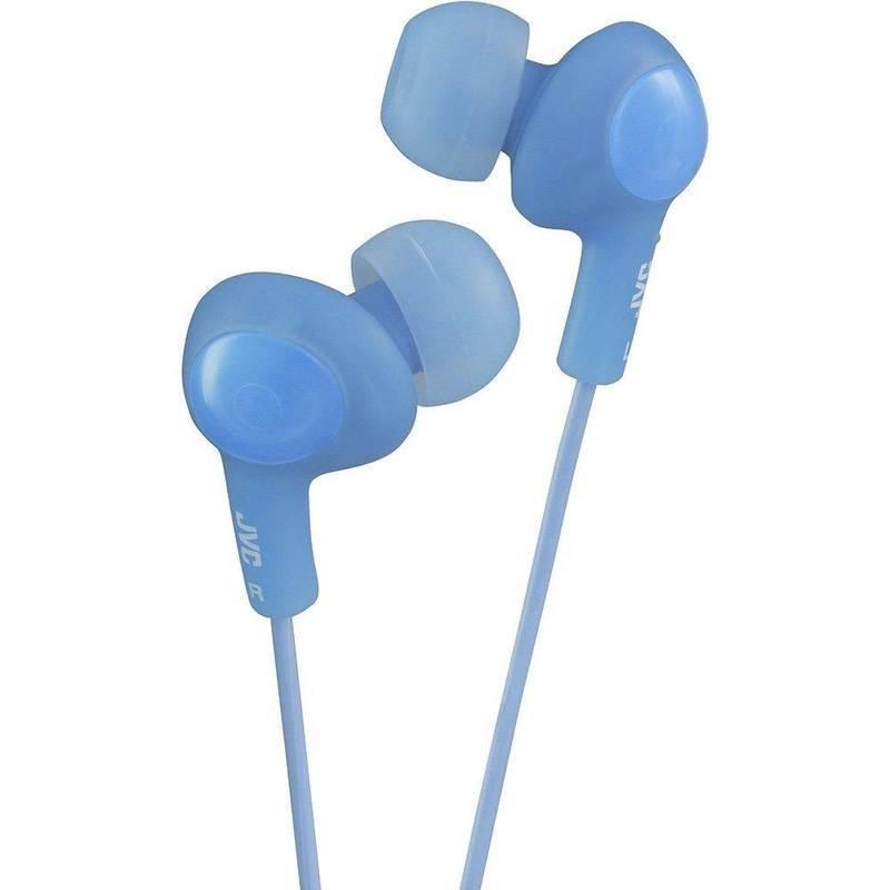 JVC HAFX5BE Gumy Plus Noise Isolating Headphones