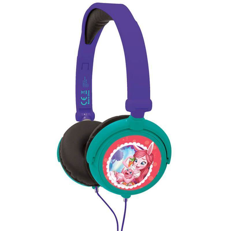 Lexibook Enchantimals Foldable Stereo Headphones - слушалки подходящи за деца (лилав)