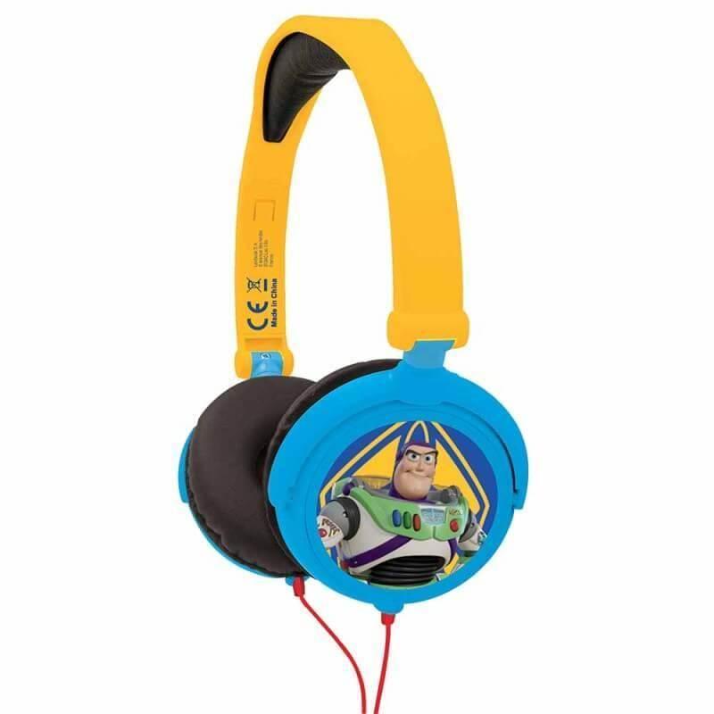 Lexibook Toy Story 4 Foldable Stereo Headphones - слушалки подходящи за деца (син-жълт)