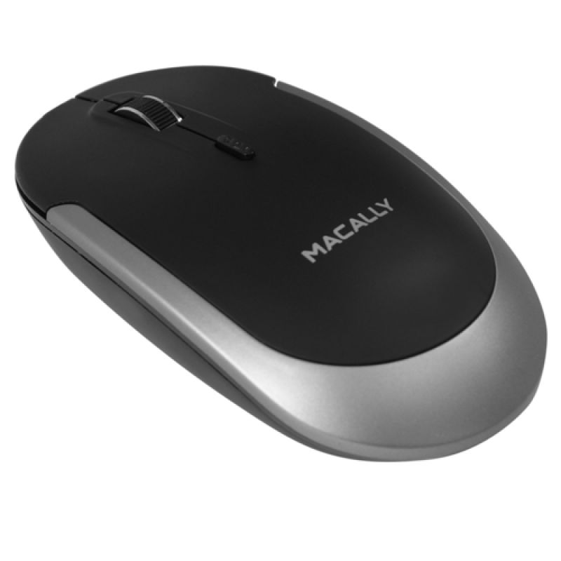Macally Bluetooth Optical Quiet Click Mouse