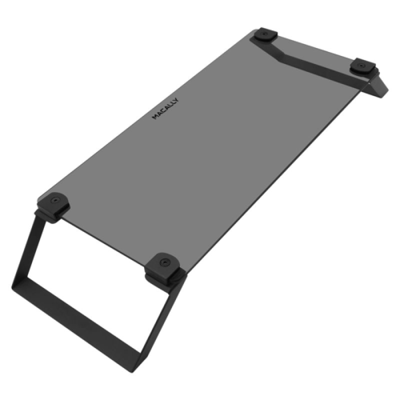 Macally Tempered Glass Monitor Stand