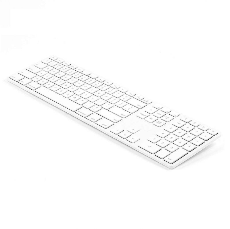 Matias Backlit Wireless Aluminum Keyboard with Numeric Keypad Special Edition