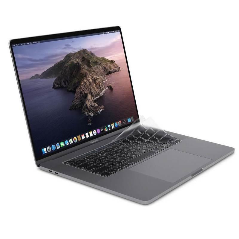 Moshi ClearGuard MB 16 Keyboard Protector - силиконов протектор за клавиатурата на MacBook Pro 16 (прозрачен) (EU layout)