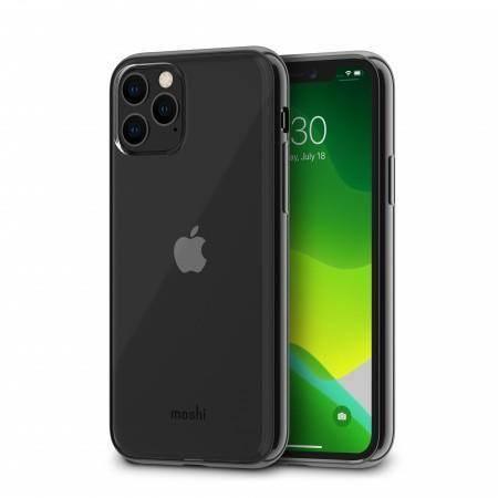 Moshi Vitros Case - силиконов (TPU) калъф за iPhone 11 Pro Max (прозрачен-черен)