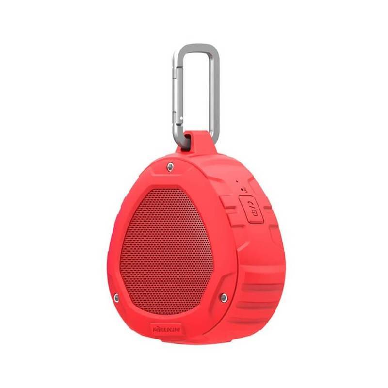 Nillkin S1 PlayVox Wireless Speaker - безжичен водо и удароустойчв Bluetooth спийкър с микрофон (червен)
