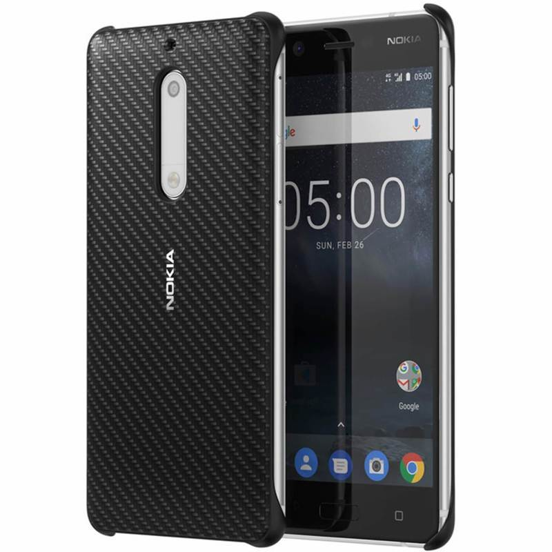 Nokia Carbon Fibre Design Case CC-803