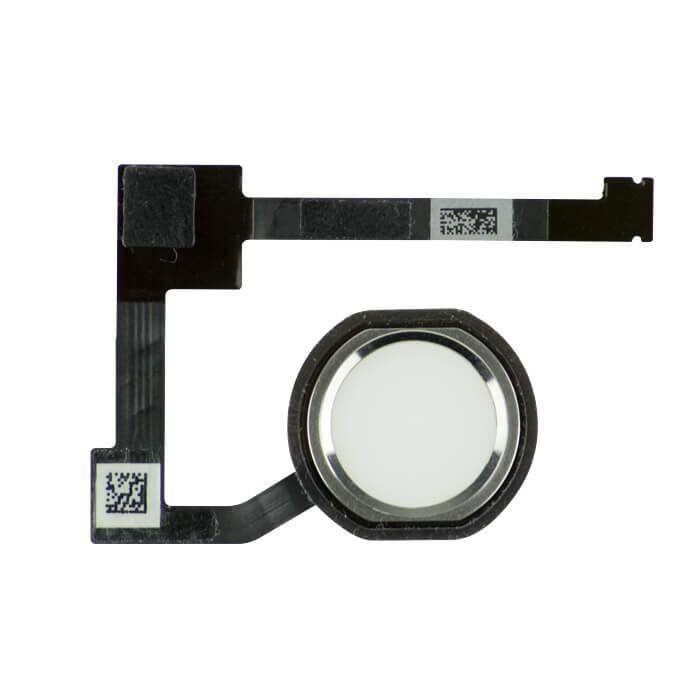 OEM Home Button Key Cable Fingerprint Touch ID - резервен лентов кабел за Home бутона за iPad Air 2 (бял)