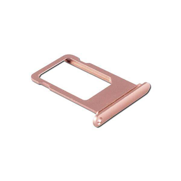 OEM iPad 7 (2019) Sim Tray - резервна поставка за сим картата на iPad 7 (2019) (розово злато)