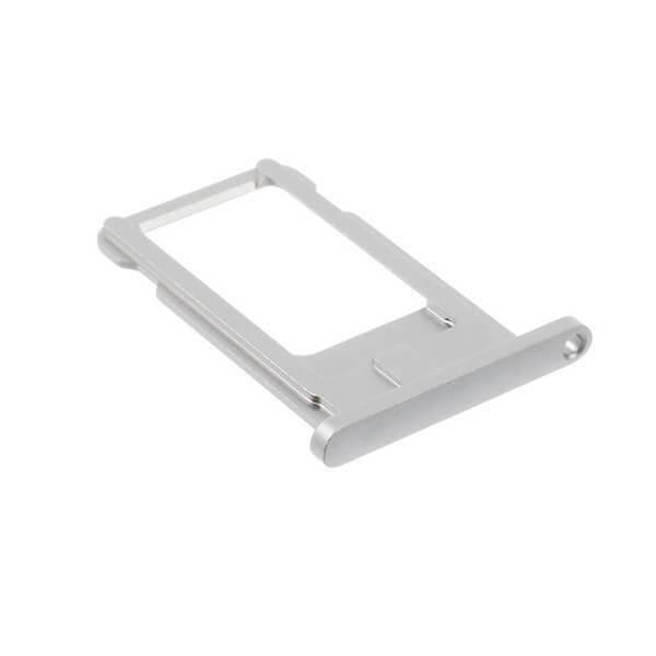 OEM iPad 7 (2019) Sim Tray - резервна поставка за сим картата на iPad 7 (2019) (сребрист)