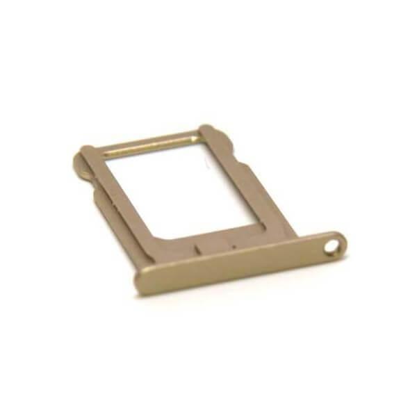 OEM iPad mini 4 Sim Tray - резервна поставка за сим картата на iPad mini 4 (златист)