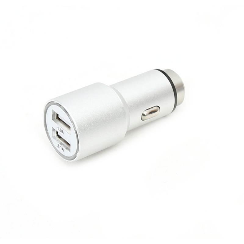 Omega Car Charger Metal 2 x USB, 3.1А