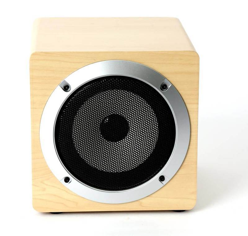 Omega Speaker OG60W Wooden 5W, 3 in. Bluetooth V4.2 TWS System