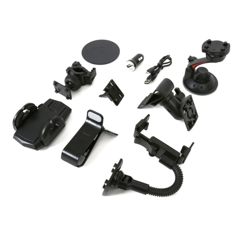 Omega Universal Car and Bike Accessories Kit 10in1