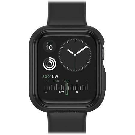 Otterbox Exo Edge Case - хибриден удароустойчив кейс за Apple Watch 40мм (черен)