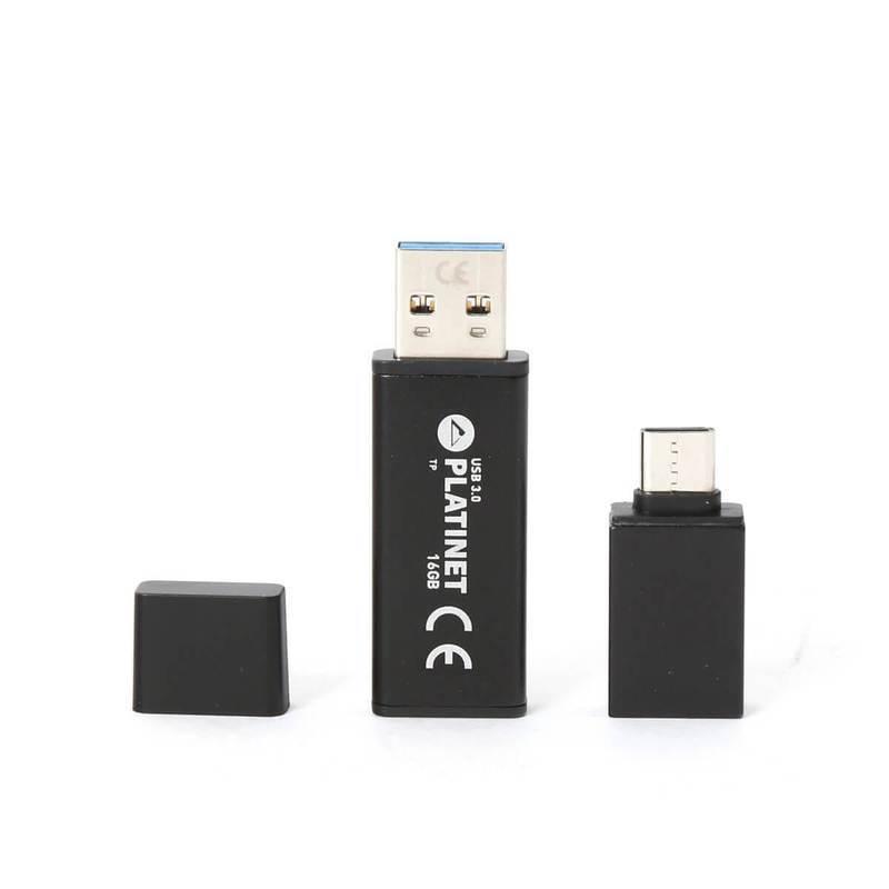 Platinet Pendrive USB 3.0 X-Depo 16GB + USB-C Adapter