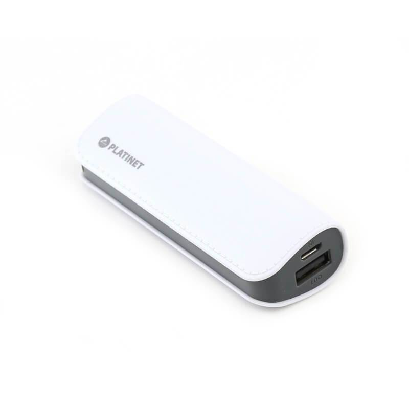 Platinet Power Bank Leather 2600mAh + microUSB cable