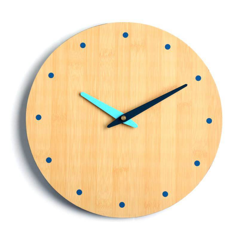 Platinet Zegar Wall Clock June - стенен часовник (кафяв)