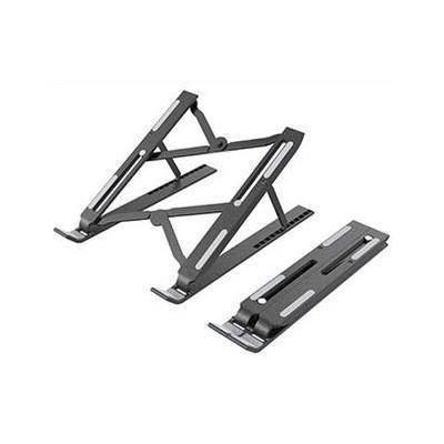 Portable ABS Folding Aluminum Laptop Stand S - преносима сгъваема поставка за MacBook и лаптопи от 11 до 13.8 инча (черна)