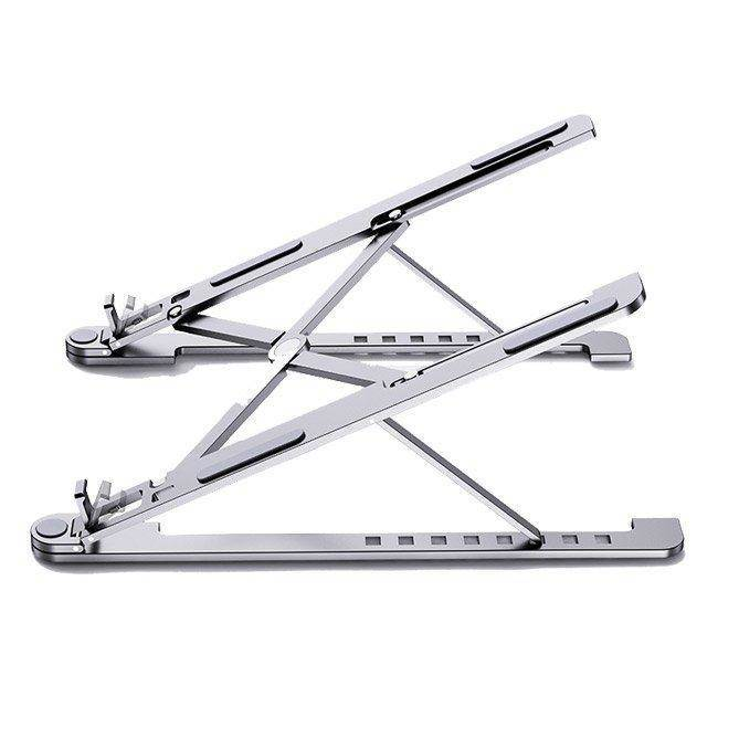 Portable Folding Aluminum Laptop Stand L - преносима сгъваема поставка за MacBook и лаптопи от 14 до 17.3 инча (сребрист)