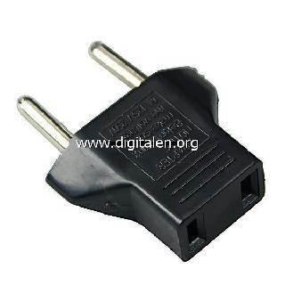 Преходник за електрическата мрежа от US към BG стандарт