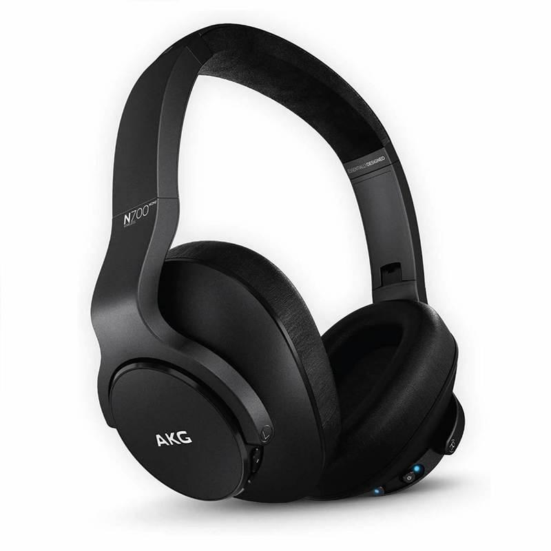 Samsung AKG N700 NC Wireless Bluetooth Over-Ear - аудиофилски безжични слушалки за смартфони и мобилни устройства (черен)