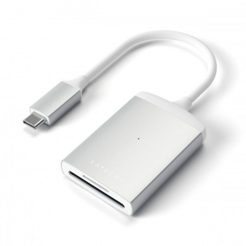 Satechi Aluminum USB-C UHS-II Card Reader