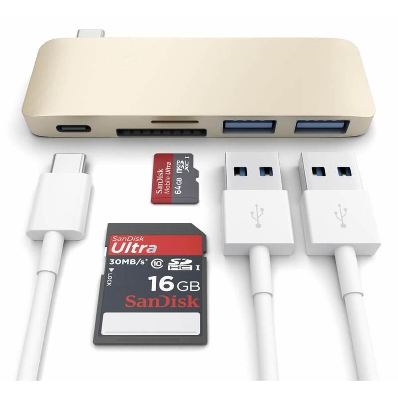 Satechi USB-C Pass Through USB Hub
