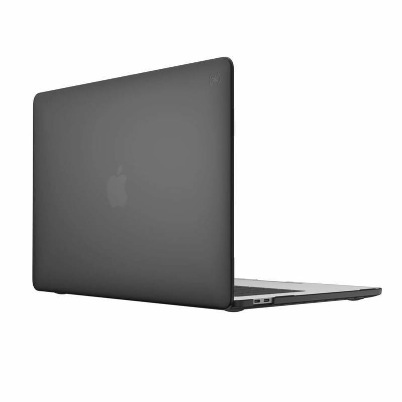 Speck SmartShell - качествен предпазен кейс за MacBook Pro 13 (2020) (черен)