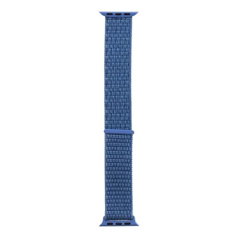 Tactical 528 Nylon Sport Band - текстилна каишка за Apple Watch 38мм, 40мм (син)