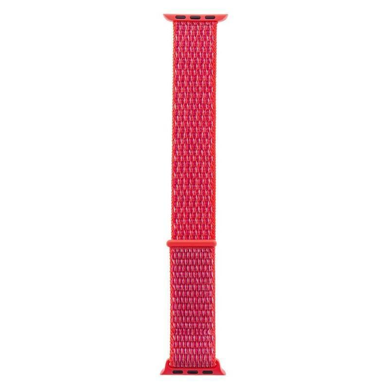 Tactical 533 Nylon Sport Band - текстилна каишка за Apple Watch 38мм, 40мм (розов)