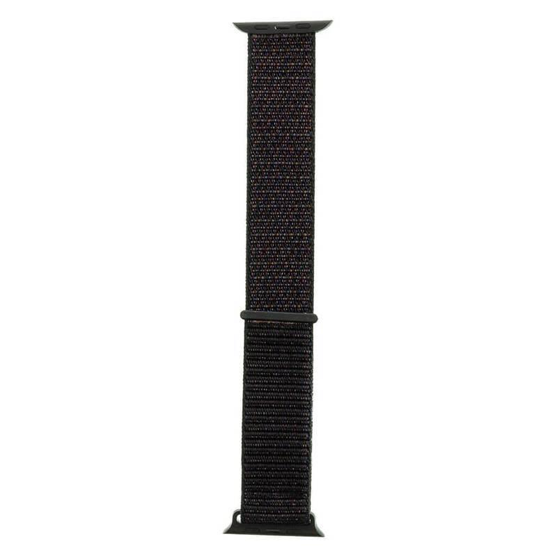 Tactical 538 Nylon Sport Band - текстилна каишка за Apple Watch 42мм, 44мм (черен)