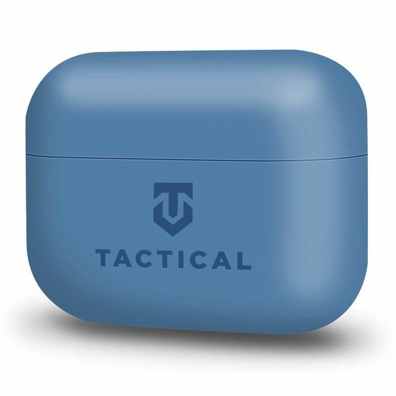 Tactical TPU Velvet Smoothie Case - термополиуретанов (TPU) удароустойчив калъф за Apple AirPods Pro (син)