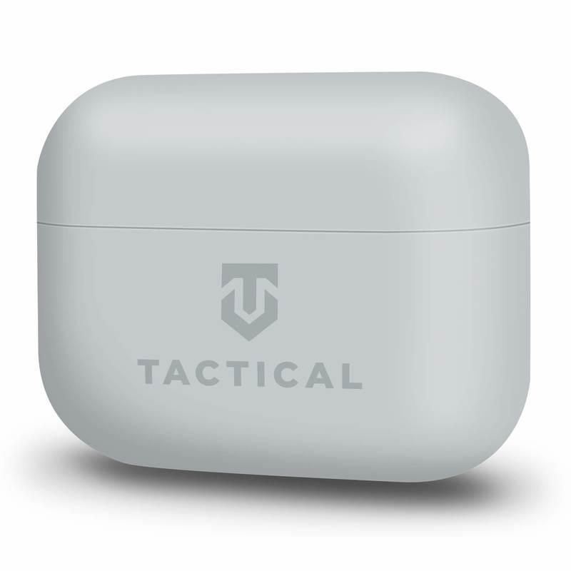 Tactical TPU Velvet Smoothie Case - термополиуретанов (TPU) удароустойчив калъф за Apple AirPods Pro (сив)