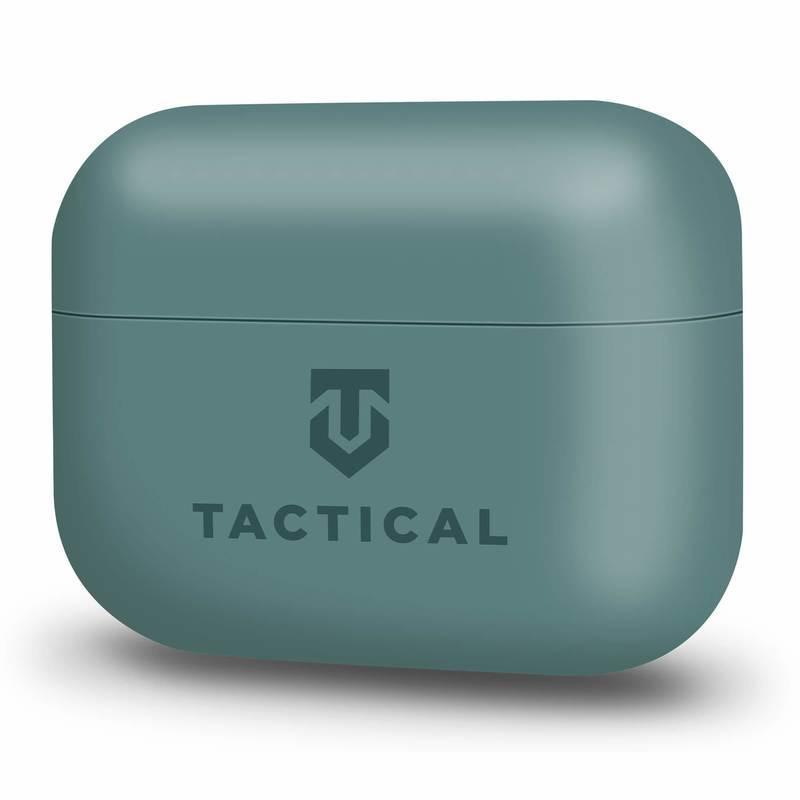 Tactical TPU Velvet Smoothie Case - термополиуретанов (TPU) удароустойчив калъф за Apple AirPods Pro (зелен)