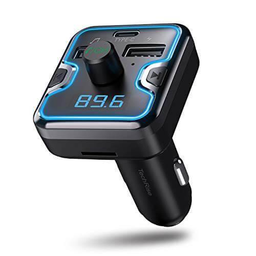 TechRise EBH05045GA01 Bluetooth FM Transmitter