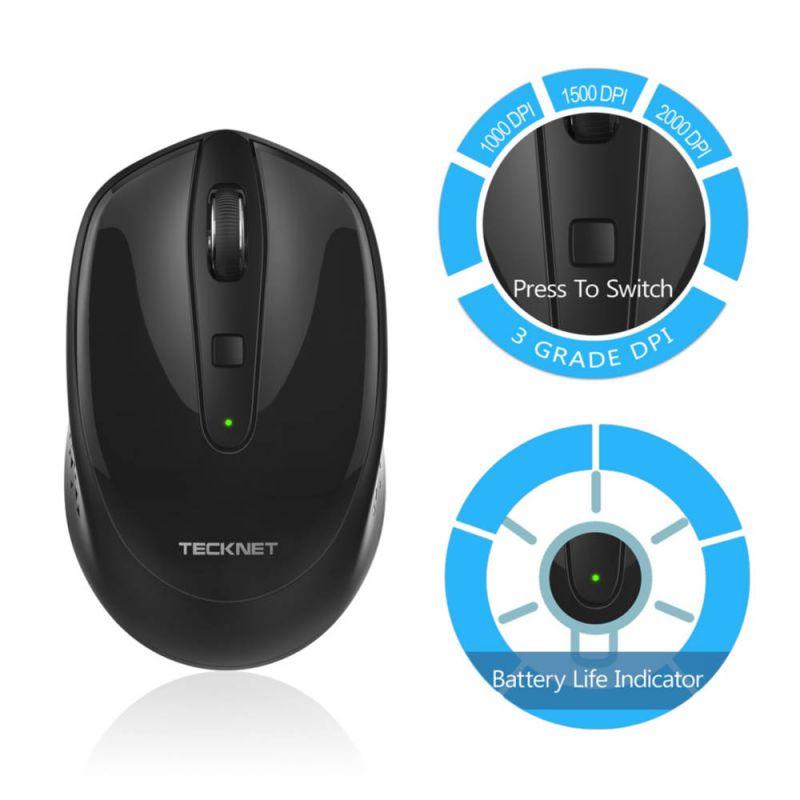 TeckNet M005 2.4G Wireless Mouse