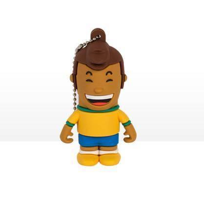 USB Tribe World Cup Brazil High Speed USB 2.0 Flash Drive 4GB
