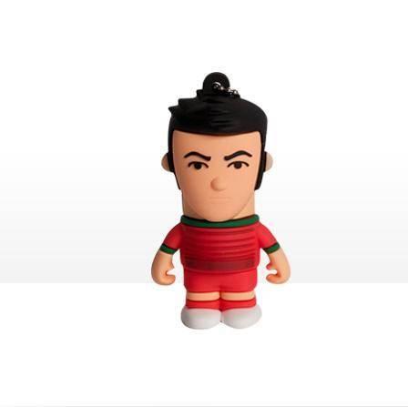 USB Tribe World Cup Portugal High Speed USB 2.0 Flash Drive 4GB