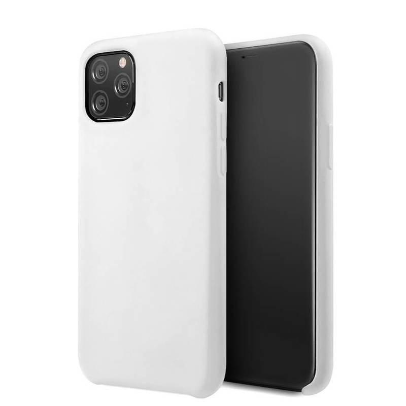 Vennus Silicone Case Lite - силиконов (TPU) калъф за iPhone 11 Pro (бял)