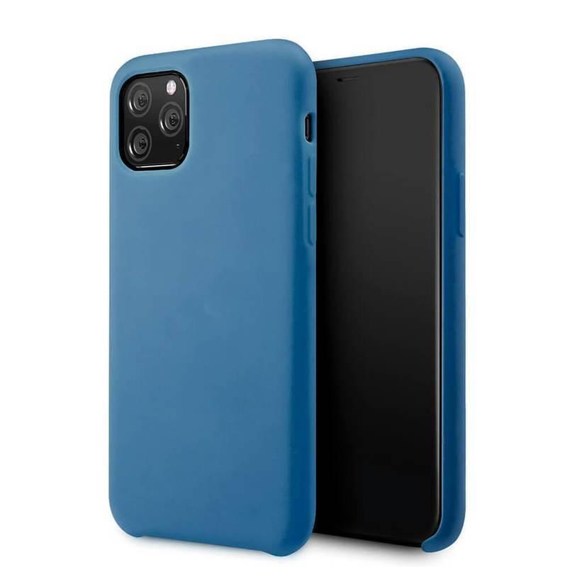 Vennus Silicone Case Lite - силиконов (TPU) калъф за iPhone 11 Pro (син)