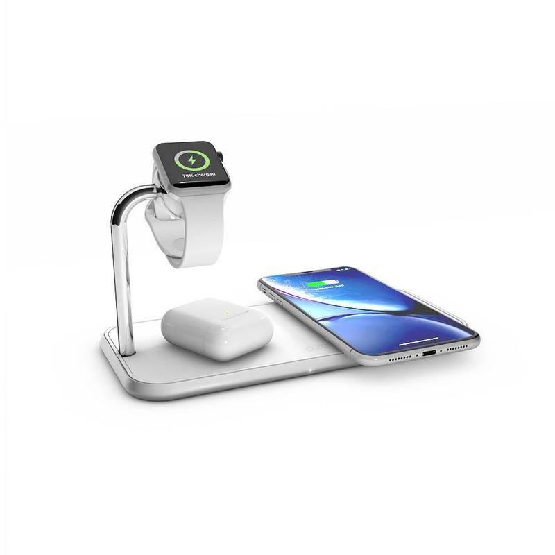 Zens Aluminium Dual Apple Watch 10W Wireless Charger ZEDC05W/00
