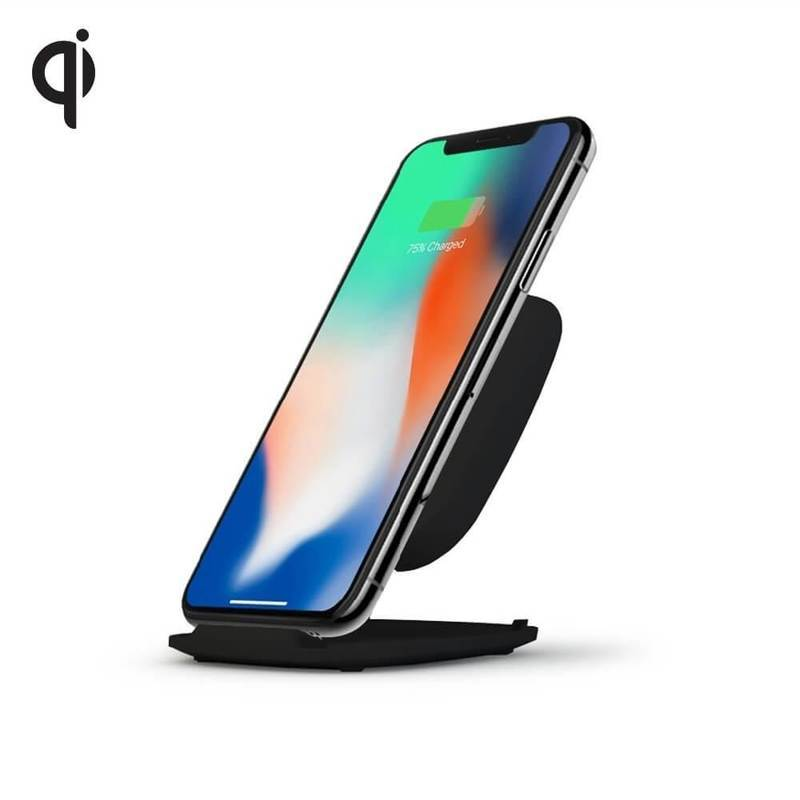 Zens Ultra Fast Wireless Qi Charger ZESC06B Stand 10W