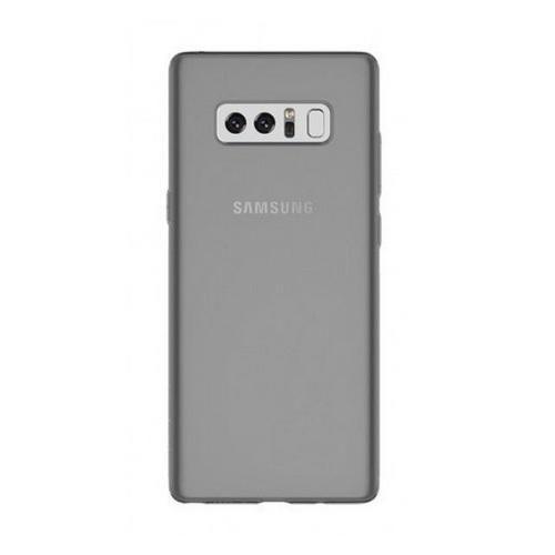 Ultra-Slim Case — тънък силиконов (TPU) калъф (0.3 mm) за Samsung Galaxy Note 8 (черен-прозрачен) - 1