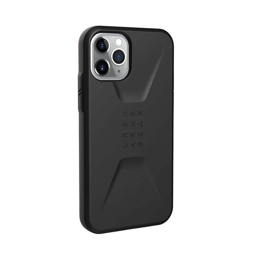 Urban Armor Gear Civilian — удароустойчив хибриден кейс за iPhone 11 Pro (черен) - 4