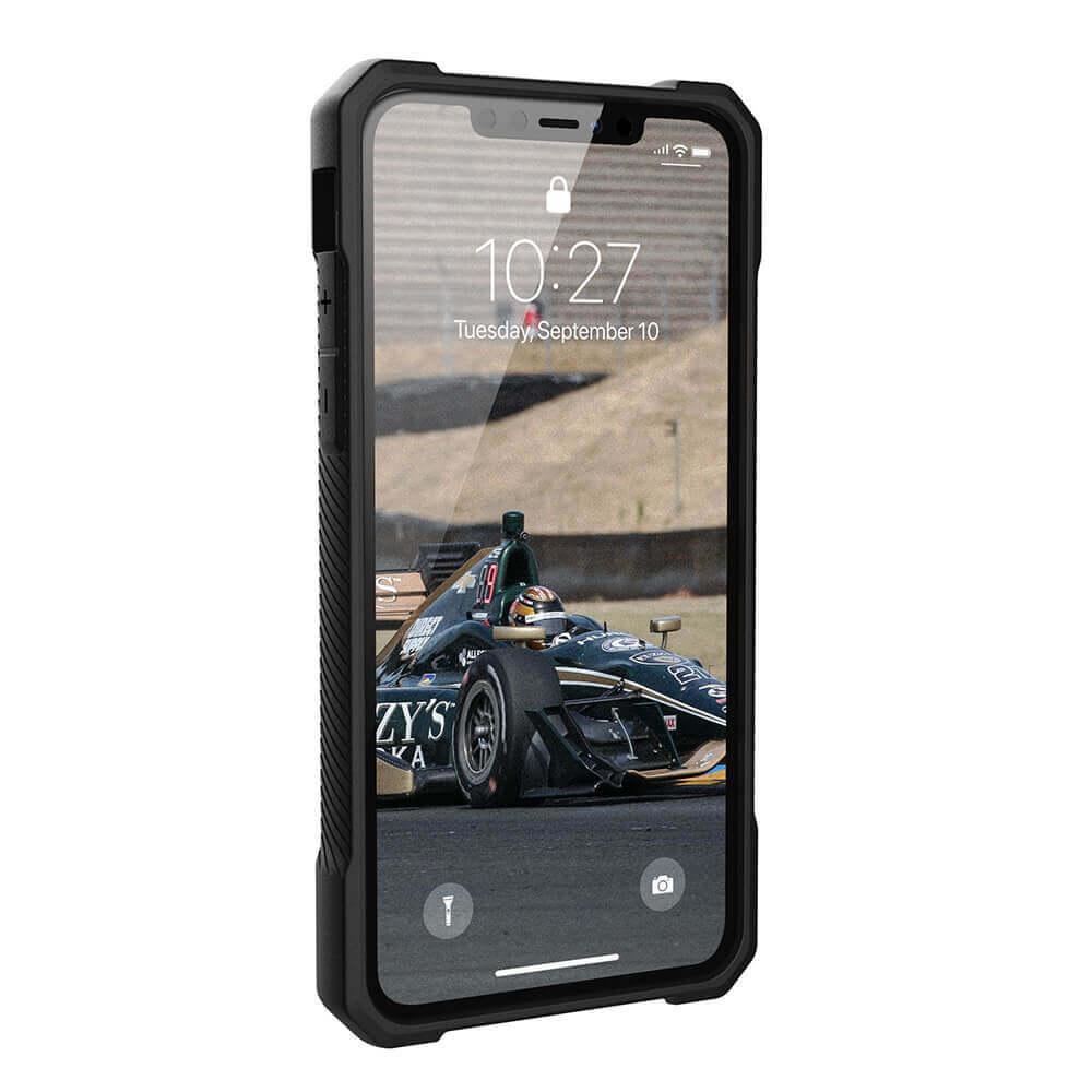 Urban Armor Gear Monarch Case — удароустойчив хибриден кейс за iPhone 11 Pro Max (черен) - 2