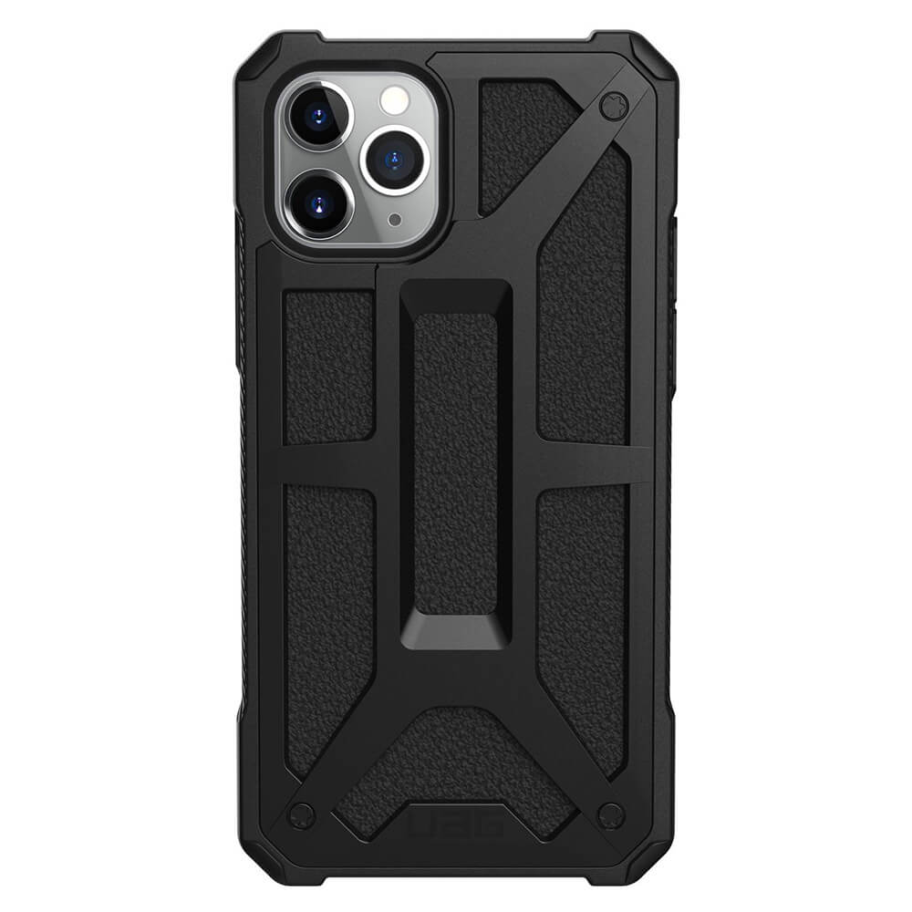 Urban Armor Gear Monarch Case — удароустойчив хибриден кейс за iPhone 11 Pro Max (черен) - 3